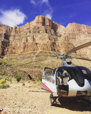 3,500 feet down in the Grand Canyon! #grandcanyonwest #maverickhelicopters