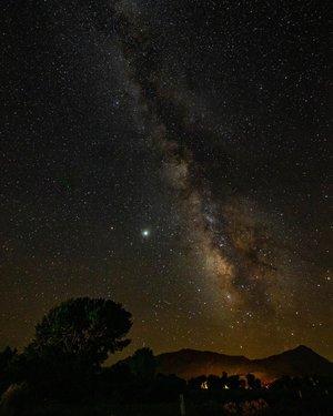 Nevada has some of the best views of the stars! #nevada #dfmi #travelnevada #astrophotography #yerington