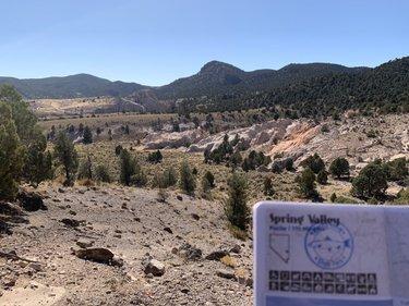 Spring Valley: ✅. 16/22 @NVStateParks in the books. Very challenging 3-4 mile hike. @TravelNevada #SteveInParks #BattleBorn #NVLeg #HomeMeanaNevada https://t.co/tMDiRSq7FO
