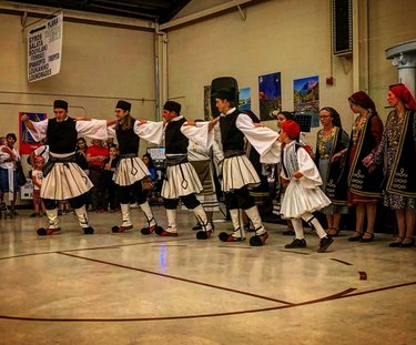 Opa! What a great night at the St. Anthony Greek Festival here in Reno! Amazing dancers (one familiar one in particular), delicious food, and an awesome glimpse into the rich culture of the Greek people! . . . . #greek #greece #greekfestival #opa #stanthony #festival #dancers #food #lamb #fun #celebration #culture #reno #nevada #nv #travelnevada