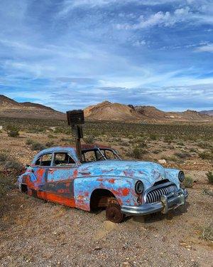 Rhyolite adventure!!! Awesome day of exploring this ghost town just west of Beatty Nv! #rhyoliteghosttown #explore #explorenevada  #desert #wanderlust #ghosttown #nevada #exploremore #hike #photography #hiddengems #goldrush