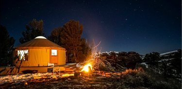 Fly in, glamp out! Thanks, @melindaschnyder, for including Ruby 360 Lodge in Lamoille, Nevada, in your roundup of winter glamping spots! https://t.co/XfgBHBQ69G  #NVTourism @aopa #airplane #pilots https://t.co/er6HTKSLvi