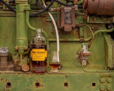 Merging a love of farming with a passion for whiskey.