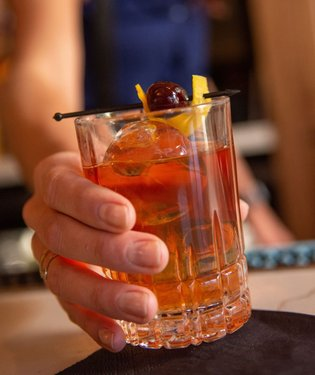 What is your favorite classic cocktail to drink during the holidays?