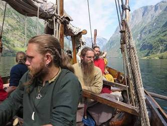 norwegian vikings - viking history of west norway - fjord norway