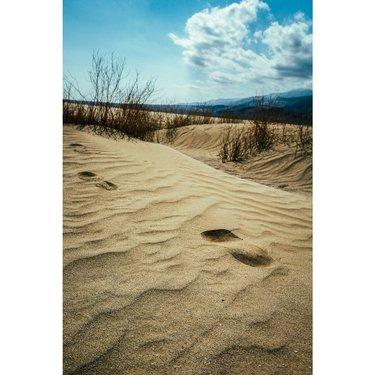 Mesquite Flat Sand Dunes, Death Valley National Park, USA - 2016 🇺🇸
