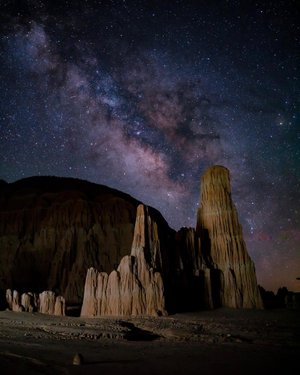 Hardest part about shooting the Milky Way...getting the courage to go sit outside in the dark by yourself for 1-3 hours during the middle of the night. - - - -  #nightscape #nightphotography #milkywaychasers #milkywayphotography #astrophotography #longexpoelite #nightsky #nightskyphotography #travelnevada #nvstateparks #cathedralgorge #outdoortones #outside_project #outdooradventures #wildernesstones #wildernessnation #idratherbeinnature #justgoshoot #sonyalpha #createcommune #bealpha #creativetones #artofvisuals #bevisuallyinspired #marvelshots #sonyimages #sonyworldclub #yourshotphotographer