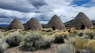 An interesting little stop on our road trip was Ward Charcoal Ovens State Historic Park. These beehive-shaped ovens were used for only 3 years in the late 1870's to reduce pinyon pine and juniper into charcoal.  After that, they were used as a hideout spot for stagecoach bandits. #history #KuzmaPhotography #wardcharcoalovens #explorenevada #stateparks #takeahike #getoutside #explore #roadtripUSA #nevadastateparks #awesomeearth #seetheworld #travelwithme #wanderlust #neverstopexploring #instatravel #igerstravel #wonderlust #travelgirl #ourplanetdaily #igersusa #photography #travel #lovetotravel  #exploremore #lifeofadventure #coolshit #travelguide #nevada #roadtrip
