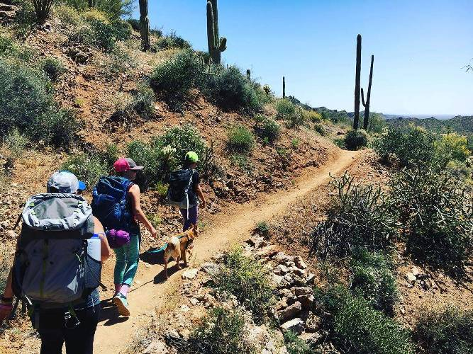 Our last #hike in the valley for #backpacking