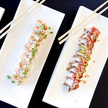 #epichigh #escape Come and enjoy  Free Hot Sakes 🍶 with your AYCE sushi 🍣 @thajointsushi 🤤🤤 . . . . . . #thajointsushi #sushi #ayce #food #eatwell #sushicoma #2thajoint #reno #sparks #lovesushi #sake #omg #salmon #freshness #tuna #yellow tail #sushiporn #love #foodporn #followme #getinstalike