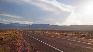 U.S. Highway 50. The Lincoln Highway. The Loneliest Road in America. ••• This open road is waiting for you, no matter what you call it. 🚘🗺 . . . . #TravelNevada #LoneliestRoadInAmerica #NVRoadTrip #Roadtrippers #LincolnHighway #RoadTripUSA #Nevada #TravelByCar #TakeMeHere #ExploreNevada
