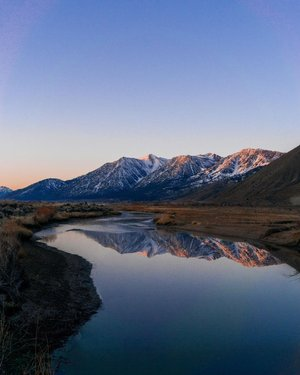 Carson Valley looking well.  Started last Saturday at 3:20am, out the door at 4 and got to this spot for sunrise. Honestly could've driven home after sunrise a happy man. Instead we headed over the mountains and hiked in the snow to this spot looking over Lake Tahoe. So much packed into the day before 10am. Still in awe and so thankful that I can so easily drive to such spectacular places.....epic day in an incredible part of the world.