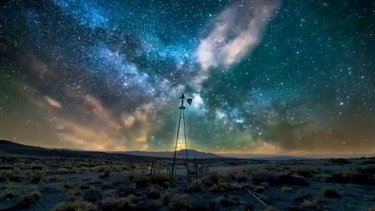 Tricked out edit of my Tonopah Nevada picture.