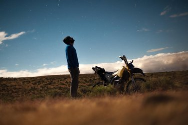 Night sky and desert camp . . . . #motocamping #offroad #nevadadesert #desertcamping #dualsport #dualsportadv . . . . . #landscapephotography #travel #travelphotography #natgeo #natgeolandscape #natgeotravel #amazingsunrise #beautifuldestinations #outdooradventures #sunrisephotography #beautifulnature #worldtraveler #instagood #photooftheday #beautiful #photography #instadaily #bestoftheday #followforfollow #master_pics #places_wow #instatravel