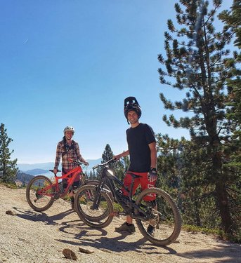 So excited about the improvements to the Tyrolian trail in Incline Village, thanks to tambatahoe sensusradtrails camzink Tyrolian was already super fun, but now it will easily be one of the best trails in Tahoe, right in our backyard! Just another great reason to call Reno-Tahoe home!