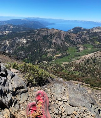 A picture is worth 1000 words sometimes. #homemeansnevada #tahoe #trails #takeahike #mtrose #topoathletic #inpursuitofawe #optoutside