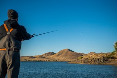Go fish! 🎣  No really, you won't find a better fishing spot in the middle of the desert than around Fallon, so you better practice your cast!