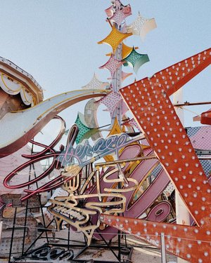 The Neon Sign Museum in Las Vegas was amazing! So cool to see so much history. They have over 200 signs!