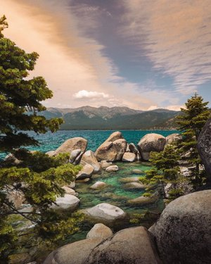Sand Harbor Beach, NV • • Anyone have any fun plans for this weekend?
