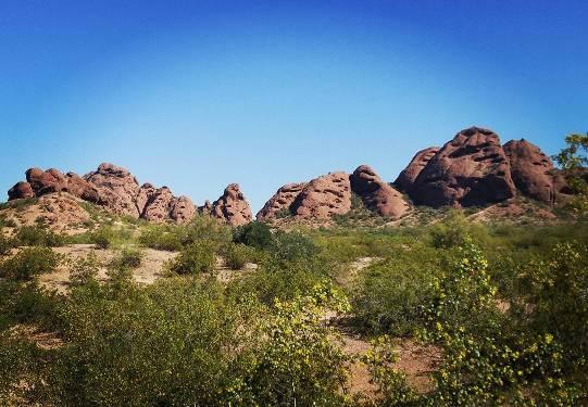 Papago Park Rocks