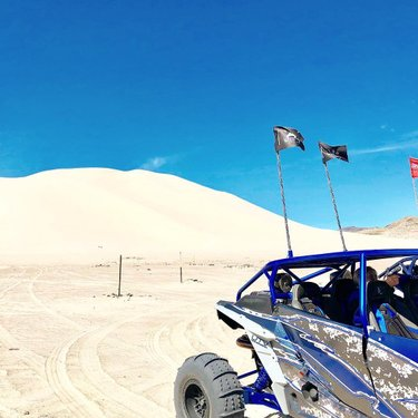 Sand Mountain just outside Fallon, Nevada. 600 feet high, 2.5 miles in length. Impressive and beautiful don't even describe it. . . . . . #nevadarocks #travelnevada #dfmi #fallonnv #mybackyard #exploreyourstate #sandmountain
