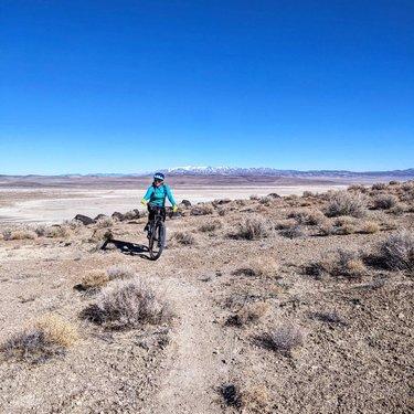 Just desert things  #playas #dirttherapy #trails #highdesert #desertvibes #forceofnature #optoutside #womenmtb #seejaneride #dfmi #travelnevada #naturalnevada #fallon #pyga