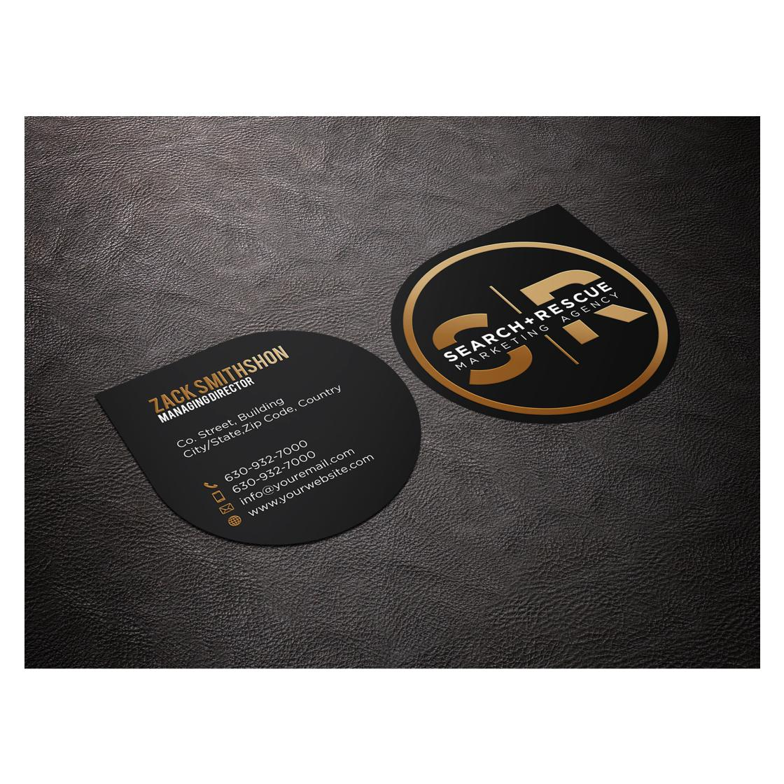 custom business card design by AkGraphics