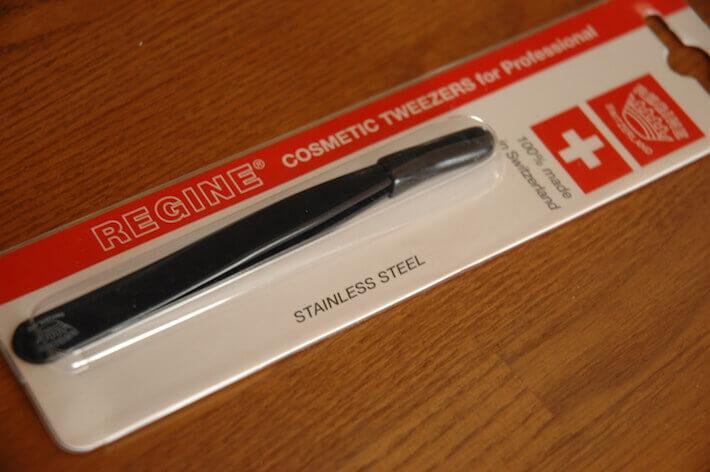 crowdspring case study - regine world's best tweezers packaging design