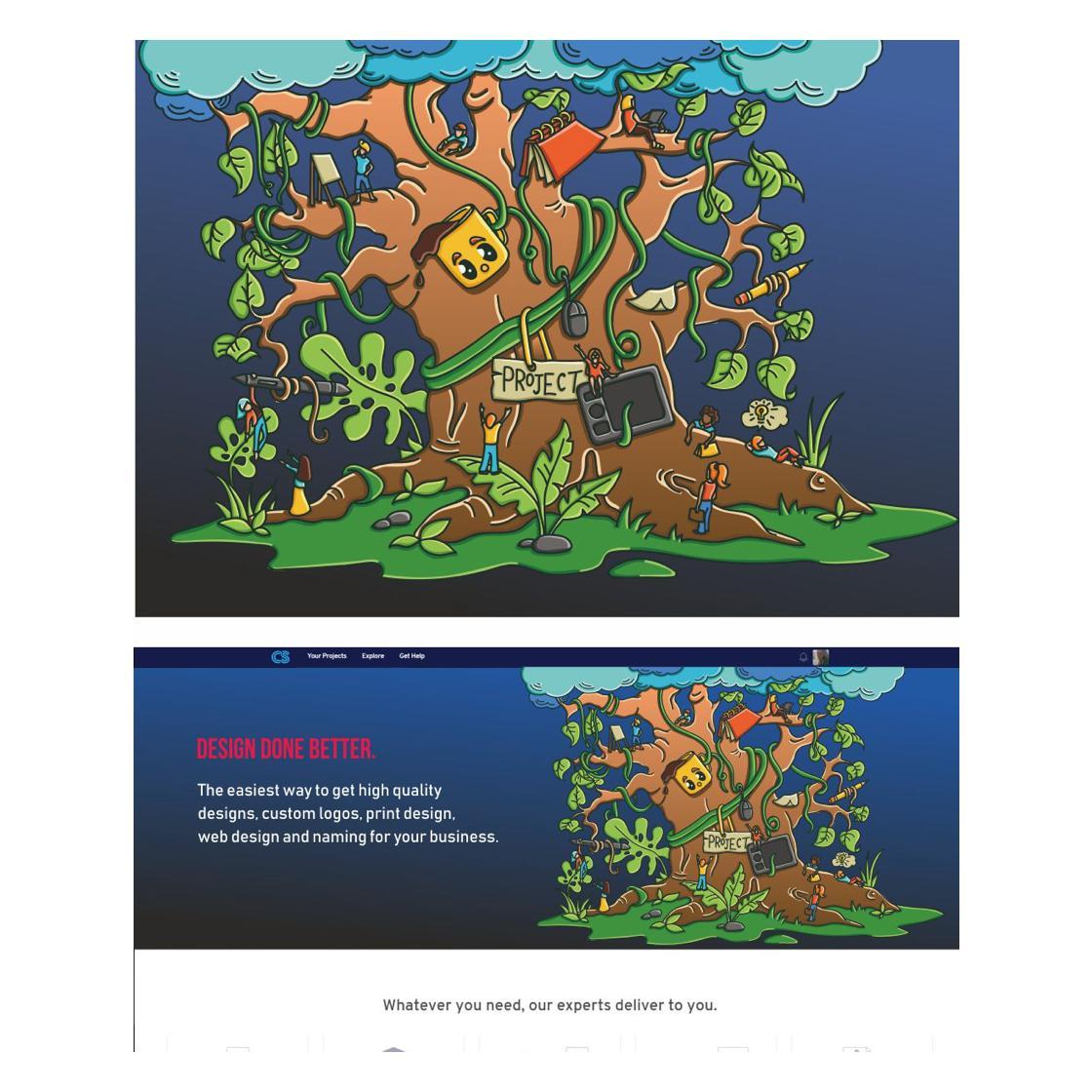 illustration designed by DeplorableSha