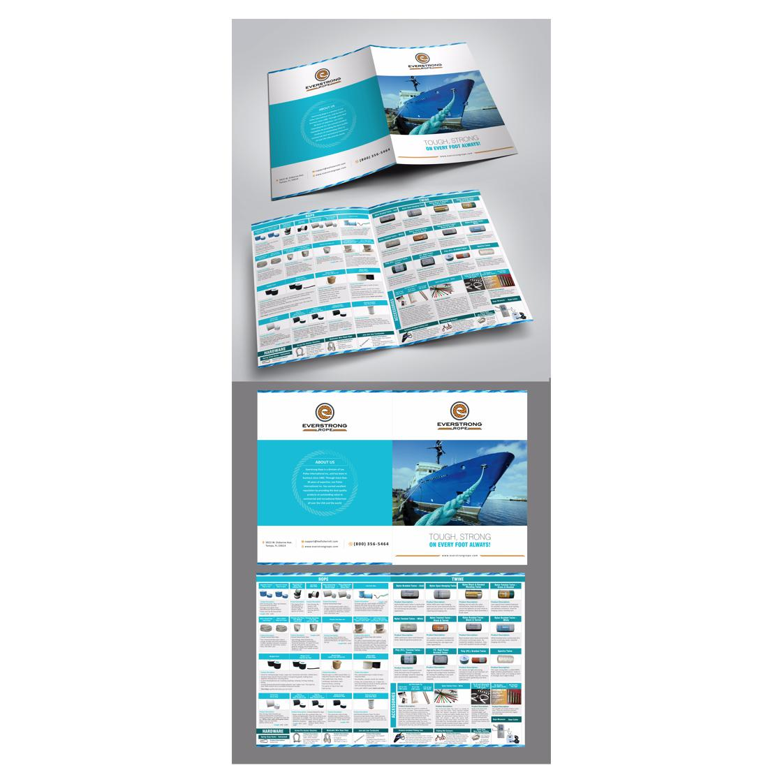 custom brochure designed by shreesparkal