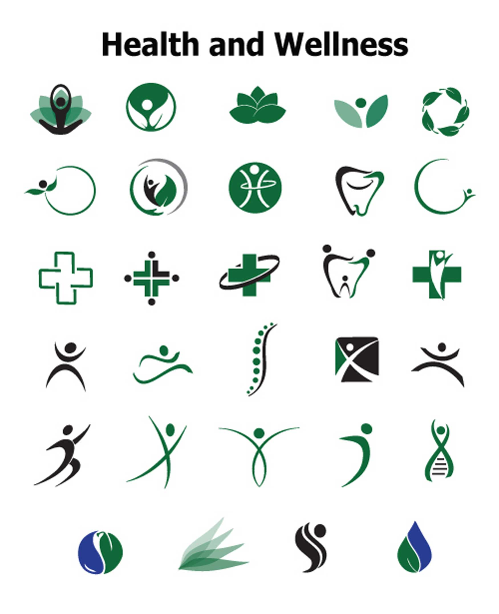 overused health logo concepts to avoid