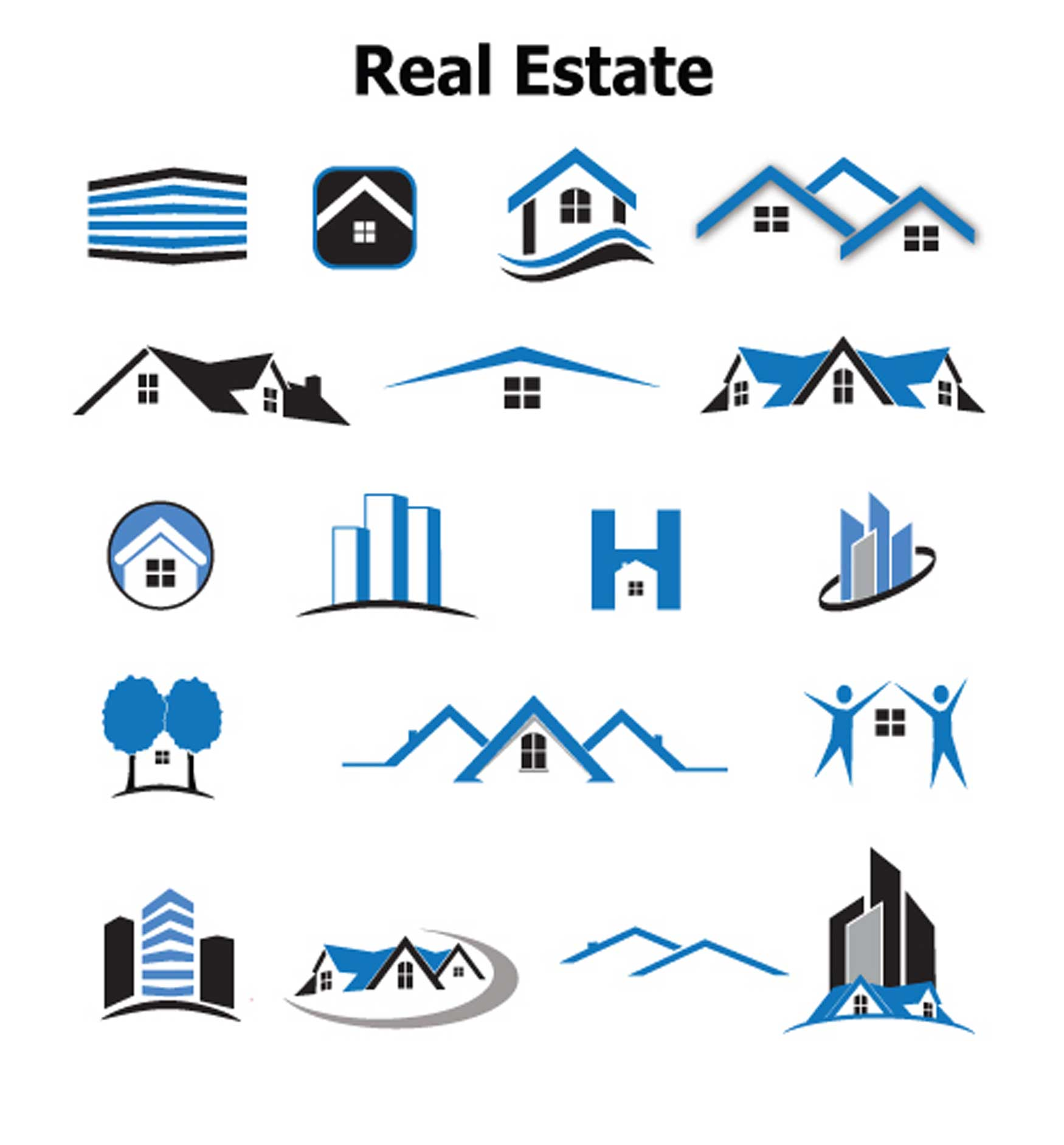 overused real estate logo concepts to avoid
