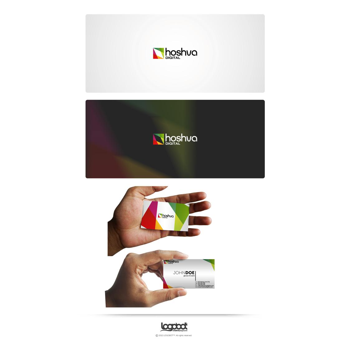 custom business card design by Logobot