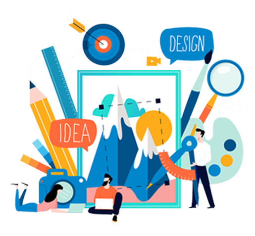 brand identity guide illustration