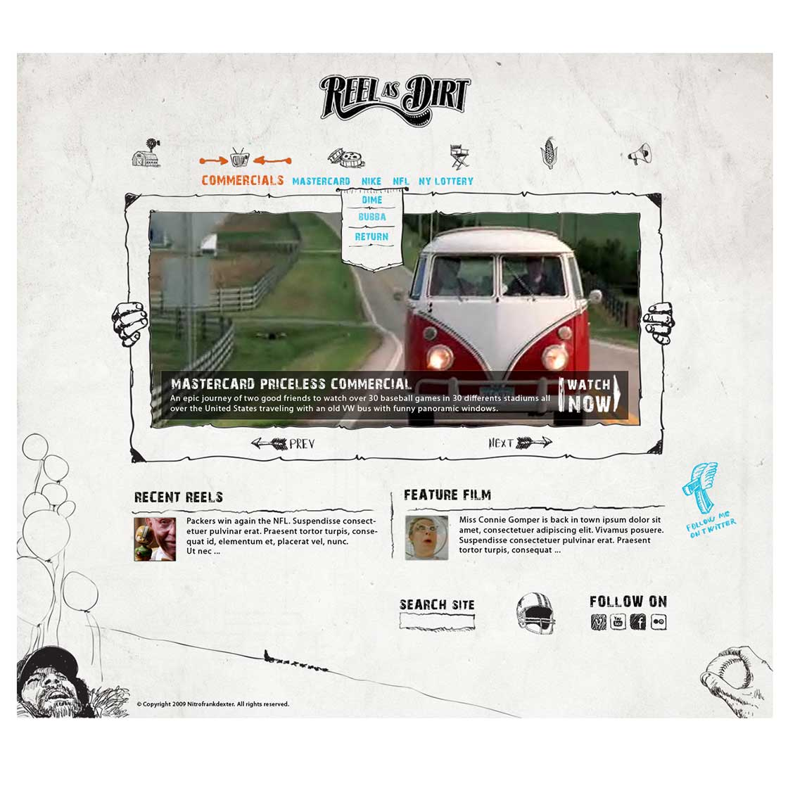 blog theme designed by nitrofrankdexter