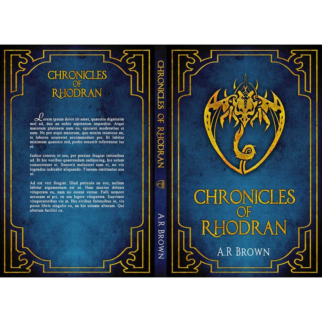 book cover designed by BrokenRose