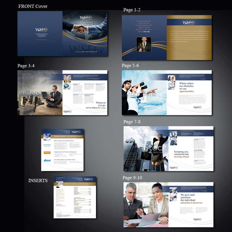 custom brochure design by MarcoDavelouis
