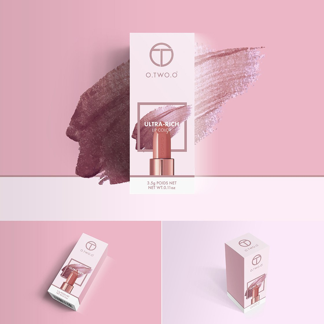 crowdspring lipstick packaging design by mattmac