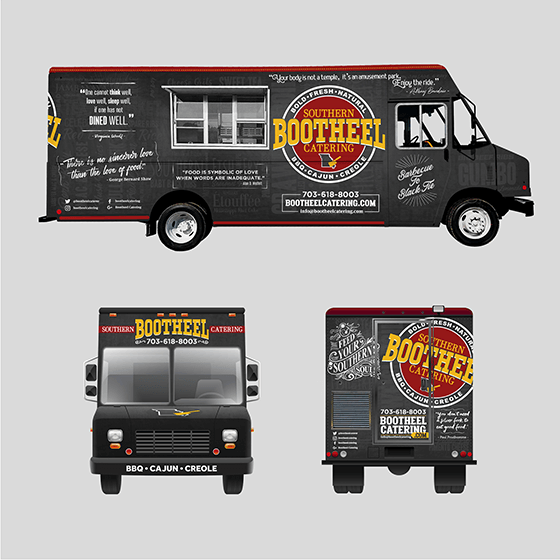 crowdspring food truck design by MACARVY