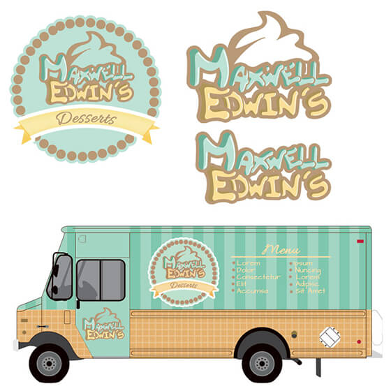 crowdspring food truck design by shiara