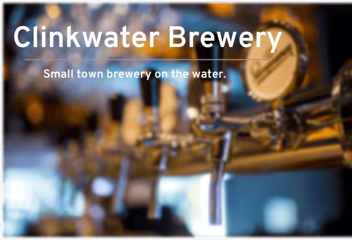 Clinkwater Brewery name