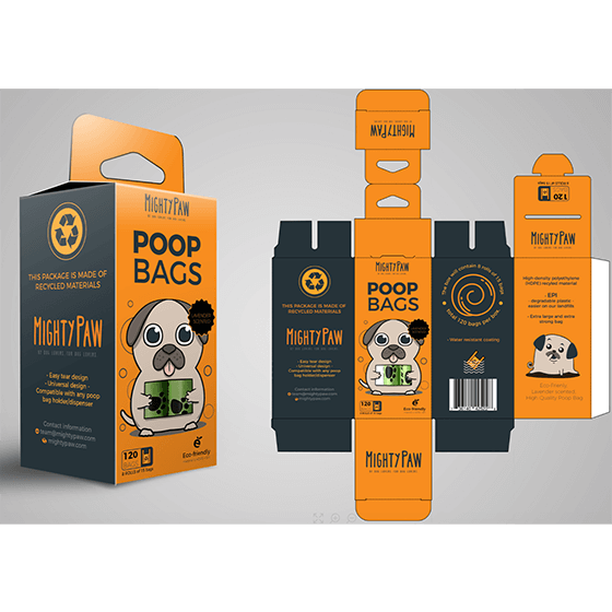 package graphics designed by vjeko