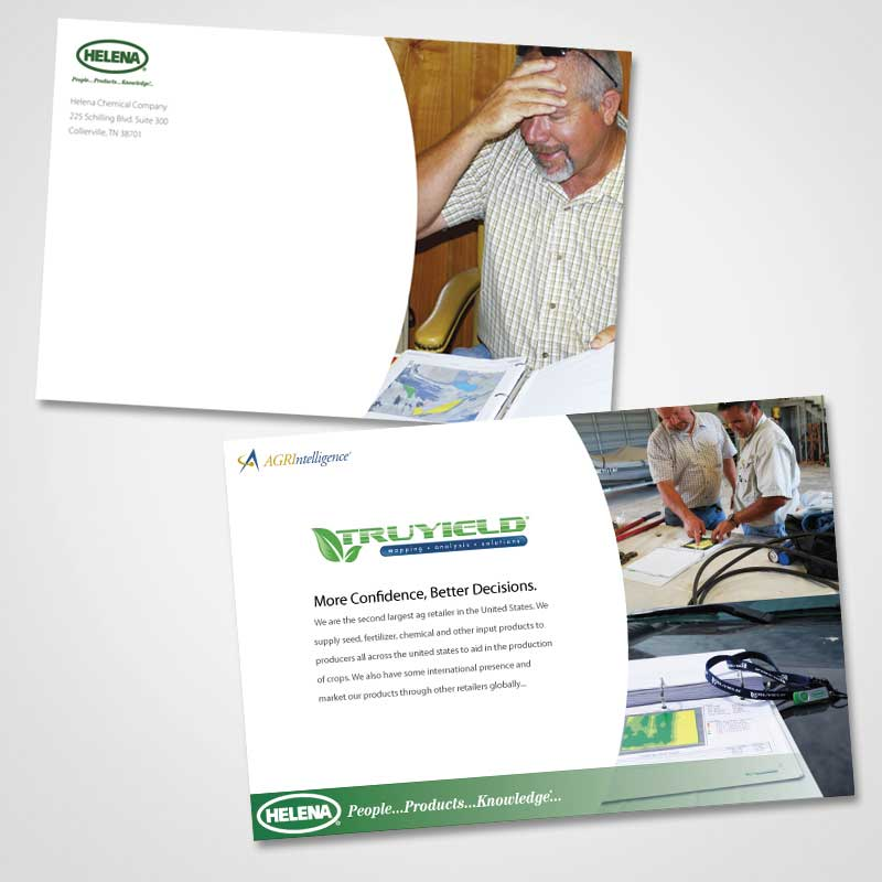 direct mailer designed by misa