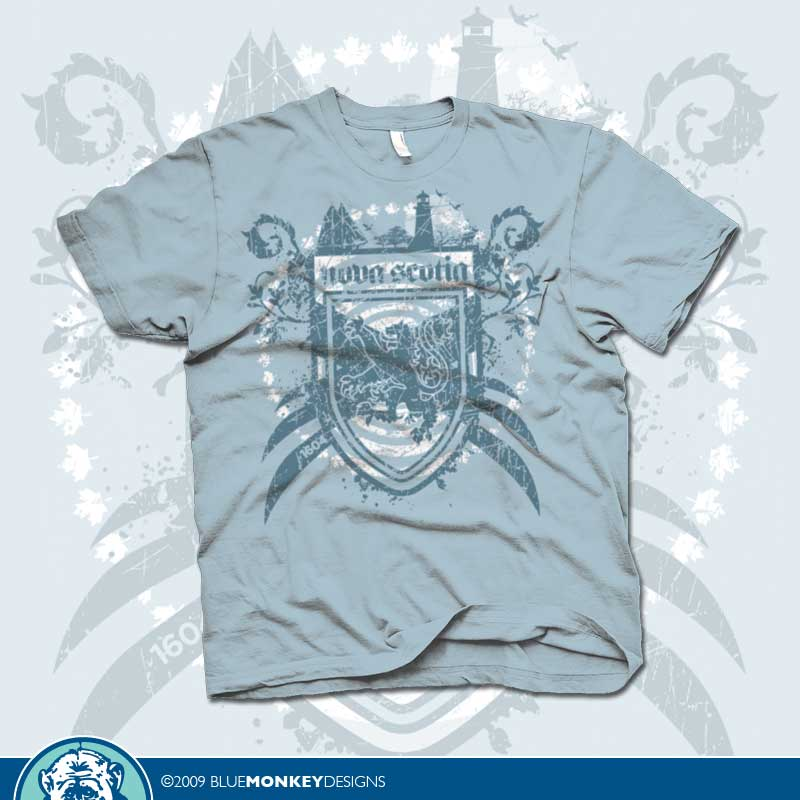 custom t-shirt design by BlueMonkeyDesigns