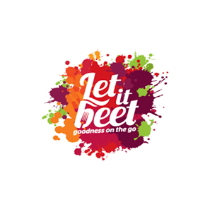 logo design - Let it beet - variation 10