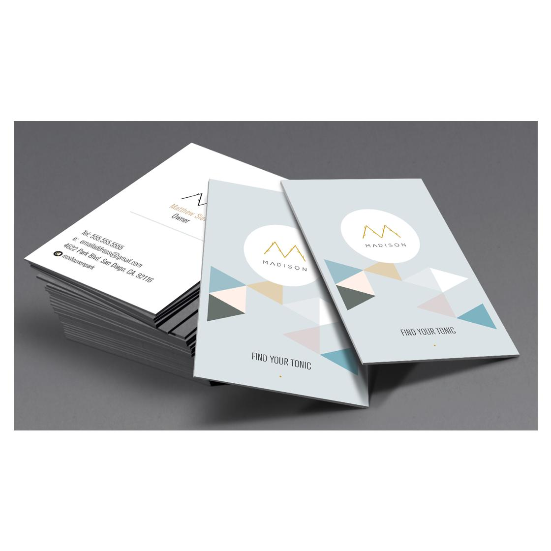 custom business card design by schk