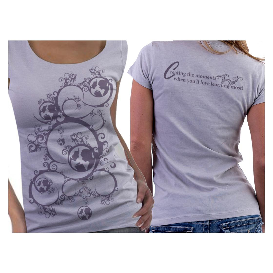 crowdspring custom t-shirt design by akosiaki