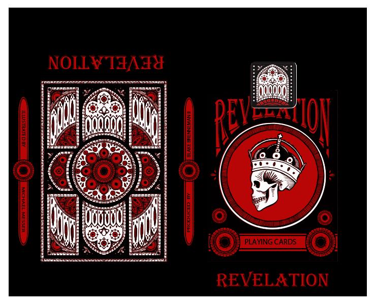Revelation Deck: Tuck Box (proof)
