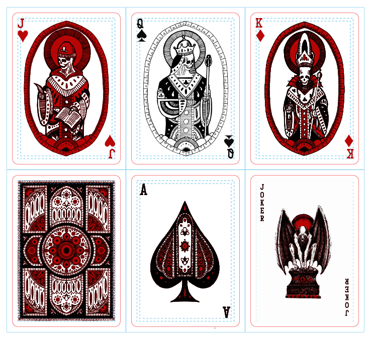 Revelation Deck: Face Cards