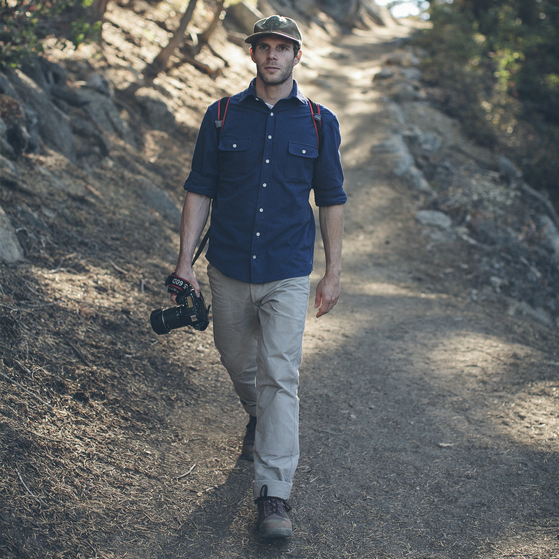 Dusty Blue Yosemite Shirt - alternate view